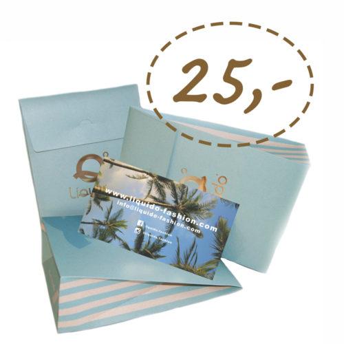 Liquido Fashion cadeaubon gift card yogakleding yogacadeau
