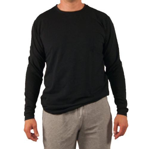 Liquido Fashion men Refuel basic Longsleeve Black
