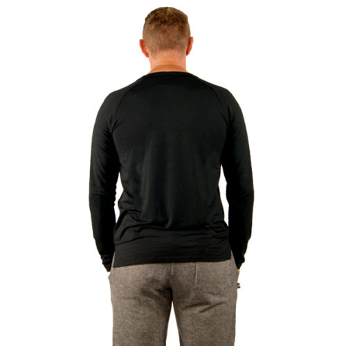 Liquido Fashion men Attitude Longsleeve Black