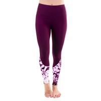 Liquido Fashion Philosophy Tie Dye Purple legging