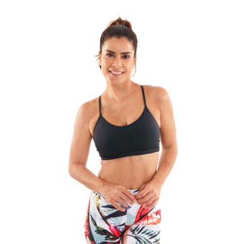 Movement X Bra Black sportbeha sportbh sporttop yogatop