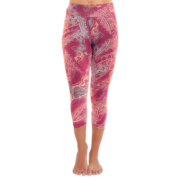 Yogakleding capri sportlegging Color Spot Liquido Fashion