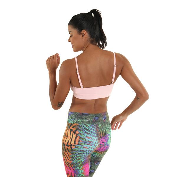 Ella Bra Light Pink Liquido Fashion Yogatop Sporttop sportbeha
