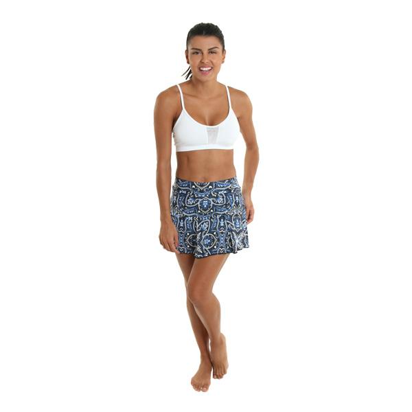 Ella Bra White Liquido Fashion yogatop sporttop Sportbeha
