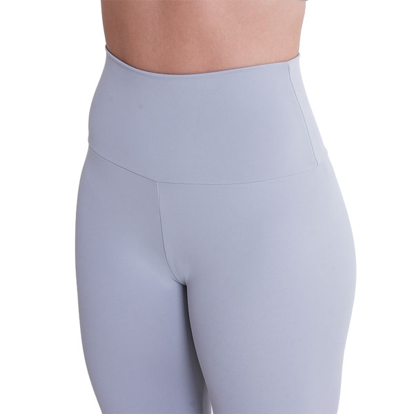Ultra High-Waist Leggings Light Grey Liquido yogalegging sportlegging