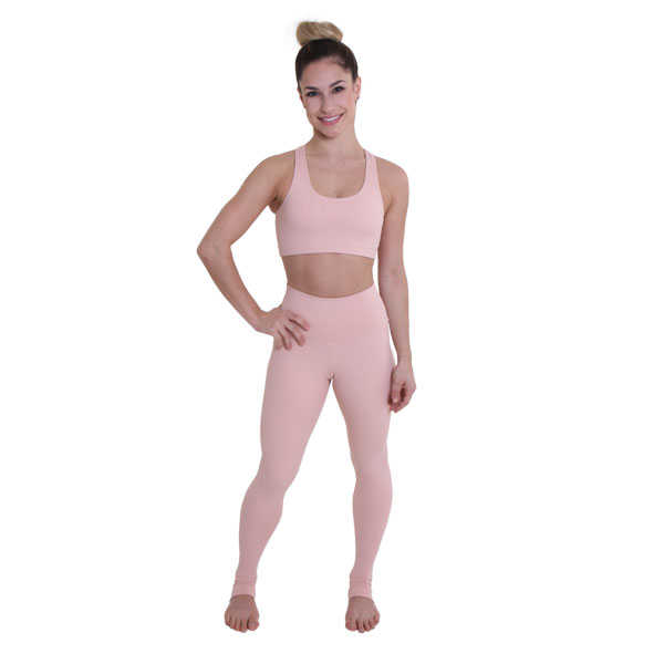 Ultra High-Waist Leggings Petit Rose Liquido yogalegging sportlegging