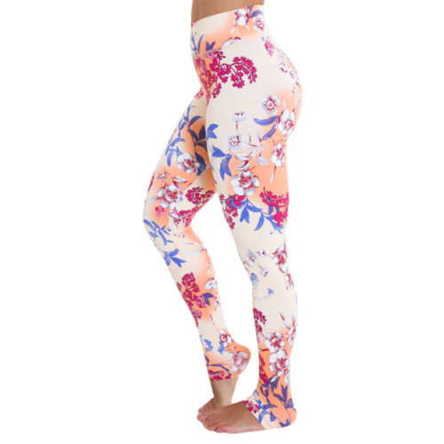 OmLeggings Peach Morning OmStars Kino Liquido Fashion yogakleding yogalegging