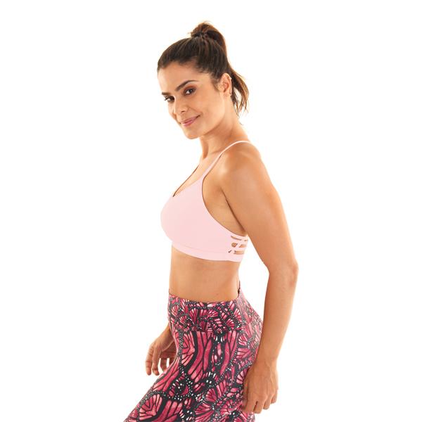 Liquido Fashion Movement X Bra Light Pink Yogatop sportbeha