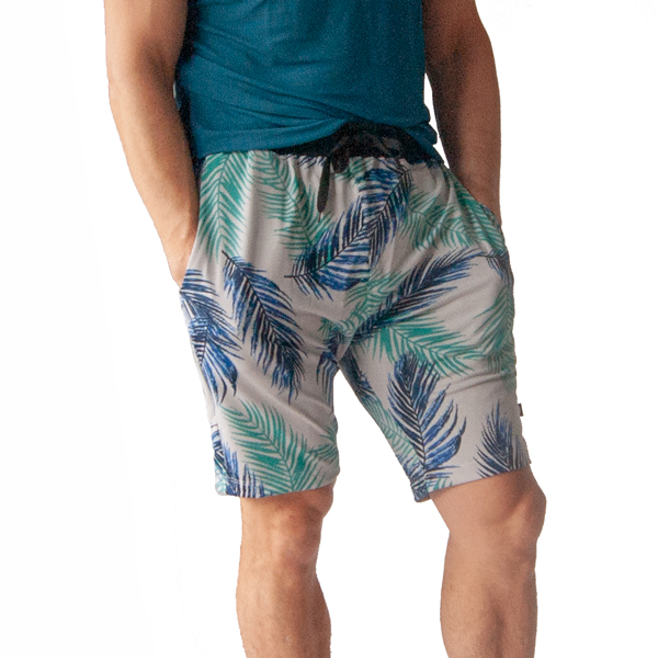 Liquido Fashion yogakleding mannen Tropic Vibes Yoga Shorts