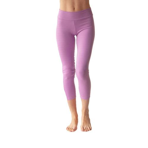Liquido Fashion Praaiah Basic capri Candy lila legging yogakleding