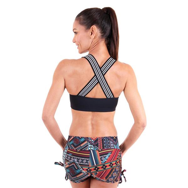 X-Back Bra New Black liquido fashion yogakleding yogatop