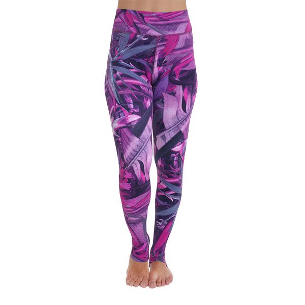 OmLeggings Pink Forest Liquido yogakleding yogalegging sportlegging OmStars Kino