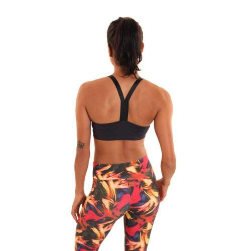 Scarlet Bra Black yogatop sportbeha Liquido Fashion yogakleding