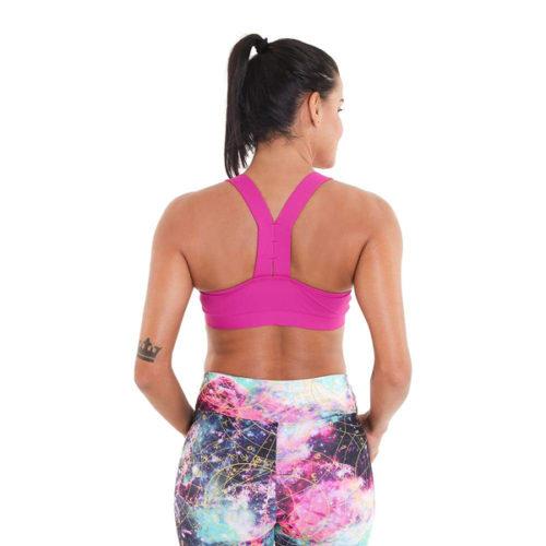 Scarlet Bra Very Berry yogatop sportbeha Liquido Fashion yogakleding
