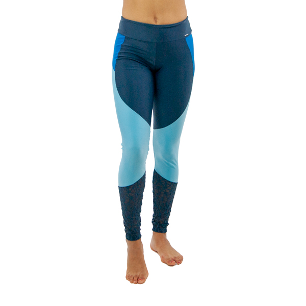 Liquido Fashion Constellation Legging Blue Moon zwarte yogalegging sportlegging