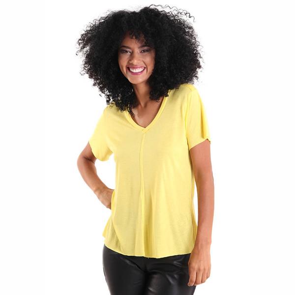 Liquido Fashion Modal Lifestyle Shirt Sunshine yogashirt sportshirt