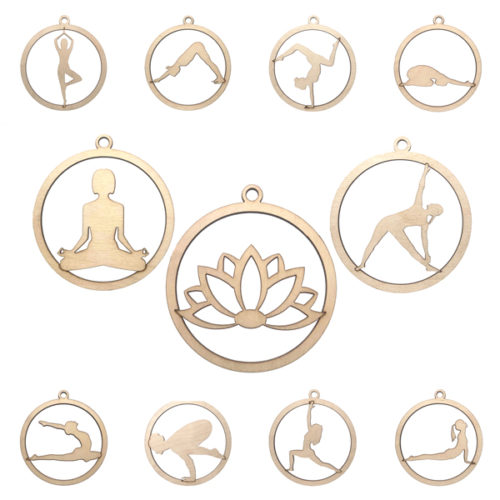 Liquido Fashion, Yoga Kerstballen, Yoga Ornaments, Yoga Cadeau