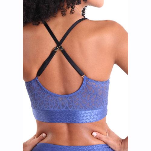 Liquido Fashion Galaxy Bra Blue Moon sportbeha yogatop sportkleding yogakleding