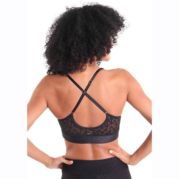 Liquido Fashion Galaxy Bra Black Night sportbeha yogatop sportkleding yogakleding