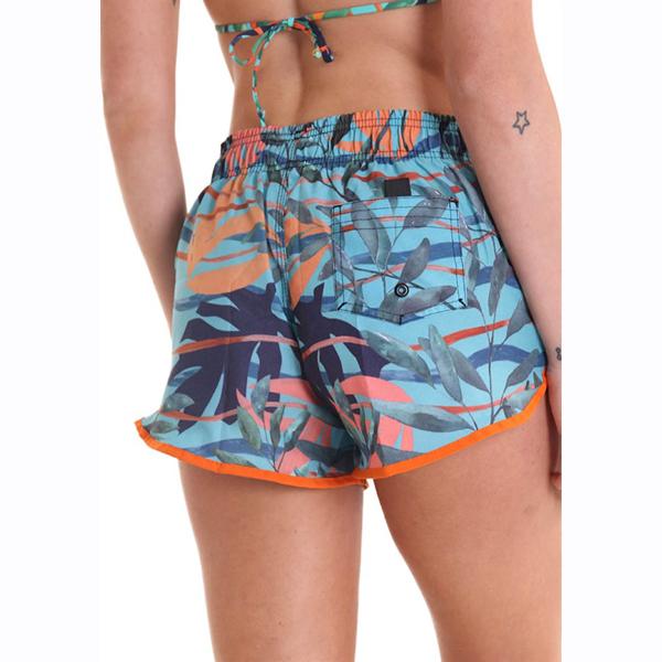 Liquido Fashion Sportkleding Yogakleding summer shorts ocean