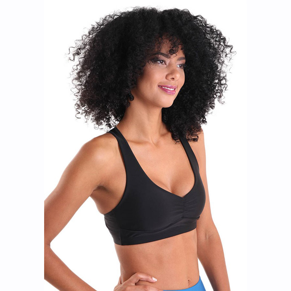 Liquido Fashion X-Back Bra Black Night sportkleding yogakleding sporttop yogatop