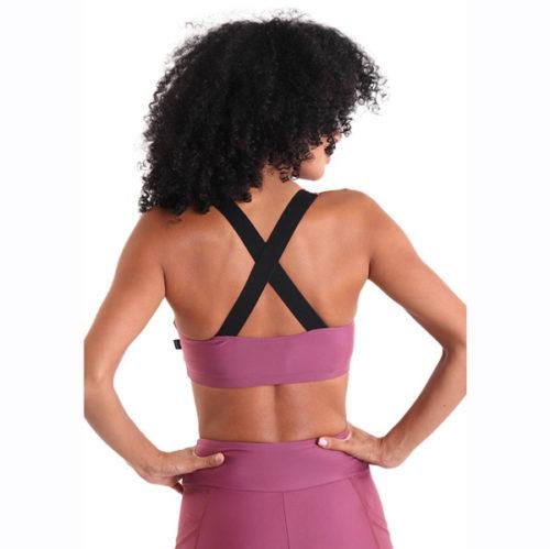Liquido Fashion X-Back Bra Star Struck sportkleding yogakleding sporttop yogatop
