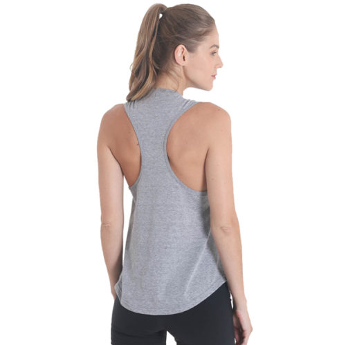 Liquido Fashion Build It Up Tank Grey yogashirt sportshirt grijs