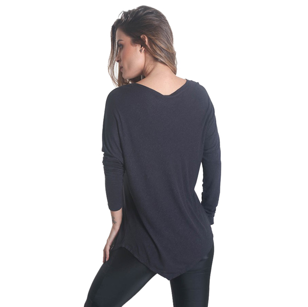 Liquido Fashion Point Out Longsleeve Black yogashirt sportshirt
