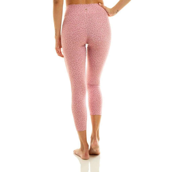 Liquido Fashion Pink Cheetah MiniMe Teen Eco Kids Legging kinderlegging tienerlegging yogalegging roze