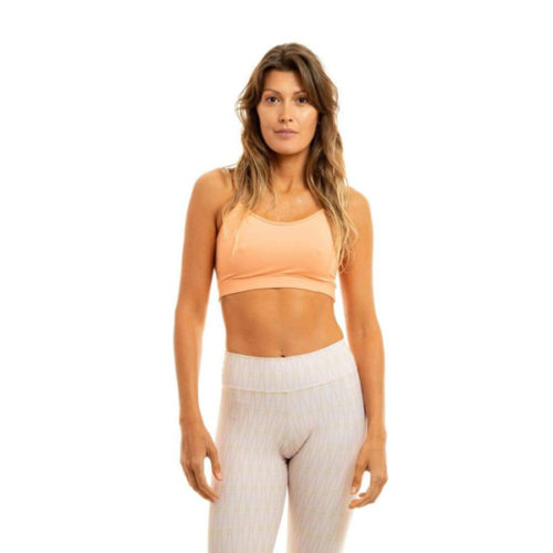 Liquido Fashion Movement X Eco Bra Peach sporttop yogatop sportbeha