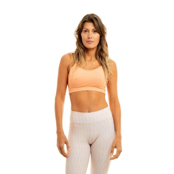 Liquido Fashion Movement X Eco Bra Peach sporttop yogatop sportbeha