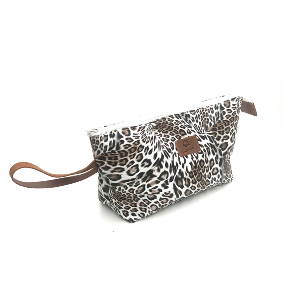 Liquido Fashion Make-up Pouch Lazy Leopard