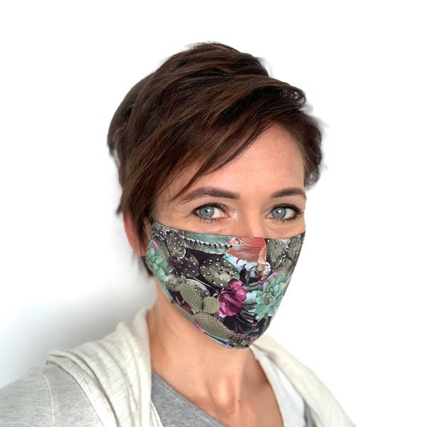 Liquido Fashion reversable facemask mondmasker Calle herbruikbaar wasbaar