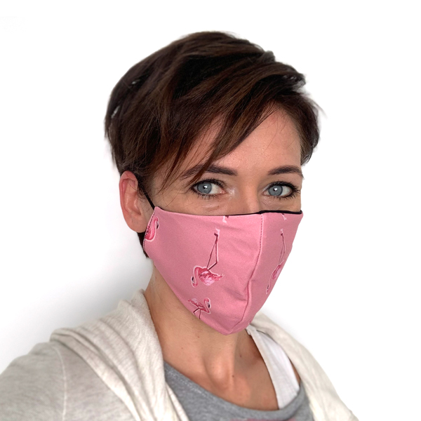 Liquido Fashion reversable facemask mondmasker Laguna herbruikbaar wasbaar