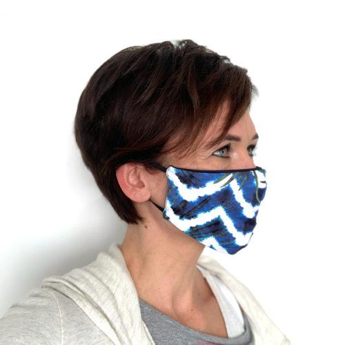Liquido Fashion reversable facemask mondmasker nuble herbruikbaar wasbaar