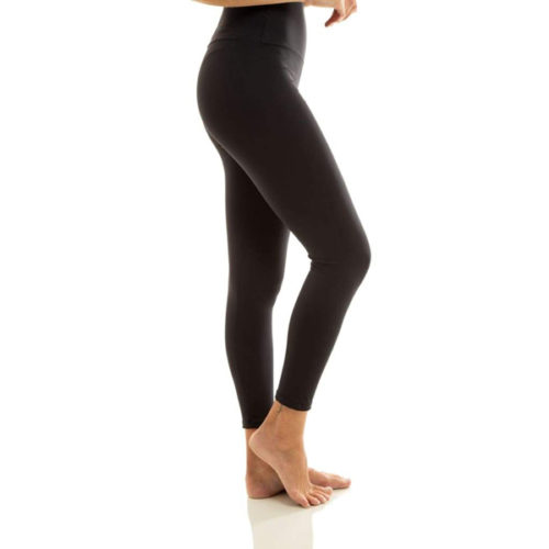 Liquido Fashion Ultra High Waist 7/8 Eco Legging Black yogalegging yogakleding