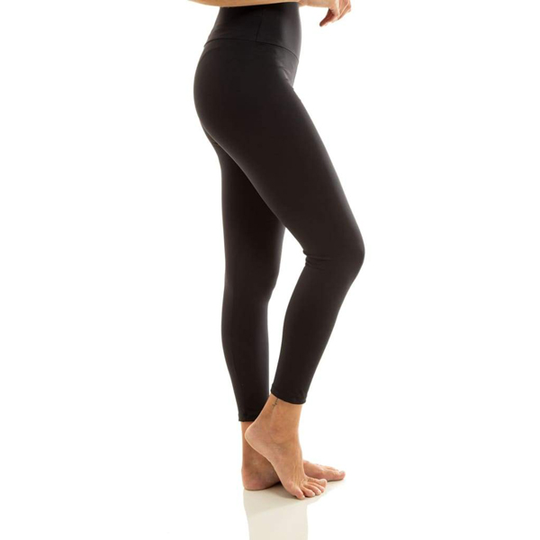 Liquido Fashion Ultra High Waist 7/8 Eco Legging Black yogalegging yogakleding