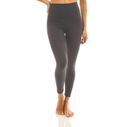 Liquido Fashion Eco Leggings ultra high waist yogalegging Grey sportlegging