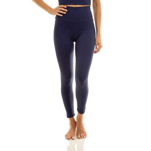 Liquido Fashion Ultra High Waist 7/8 Eco Legging Navy yogalegging yogakleding