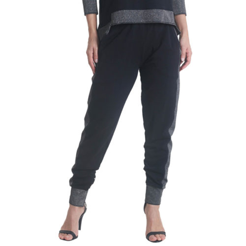 Liquido Fashion Lounge pants Shine joggingbroek relaxbroek