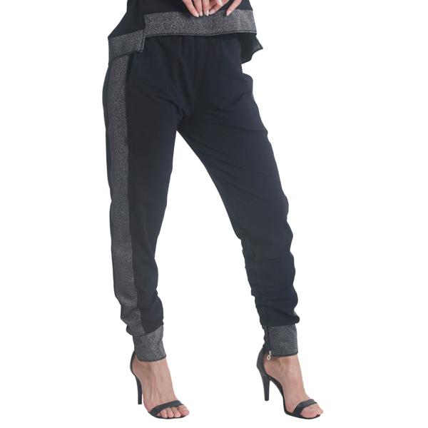 Liquido Fashion Lounge pants Shine joggingbroek relaxbroek