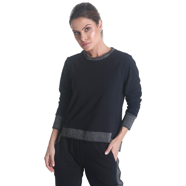 Liquido Fashion Lounge Sweater Shine relaxkleding huispak