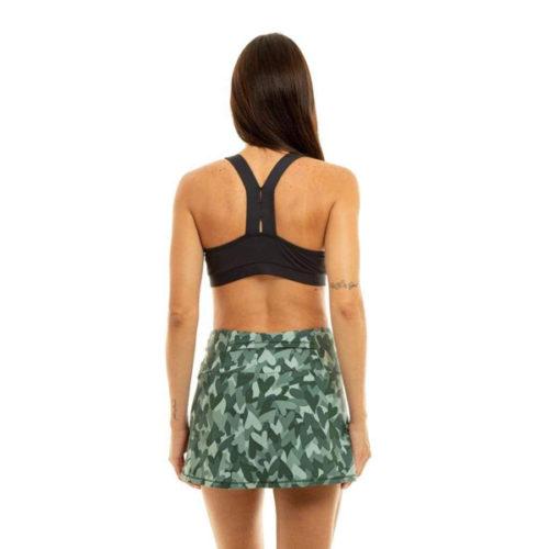 Liquido Fashion Scarlet Eco Bra Black yogatop sporttop
