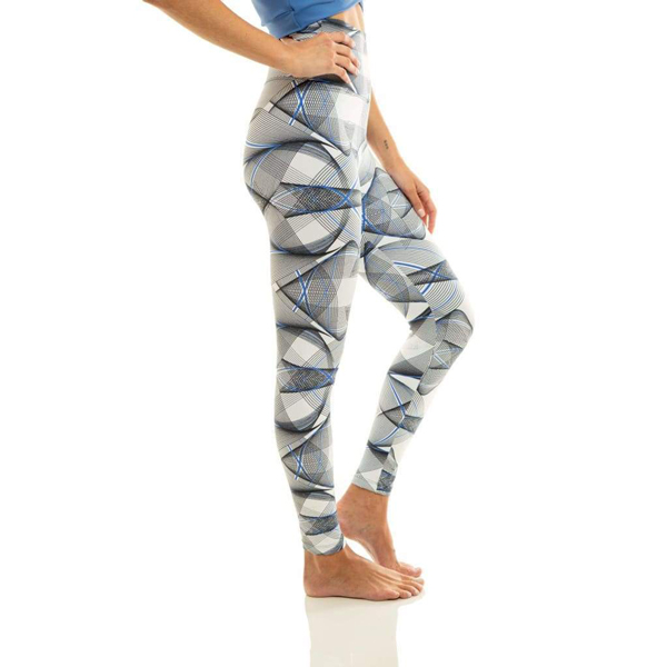 Liquido Fashion Ultra High Waist 7/8 Eco Legging Pachamama sportlegging yogalegging