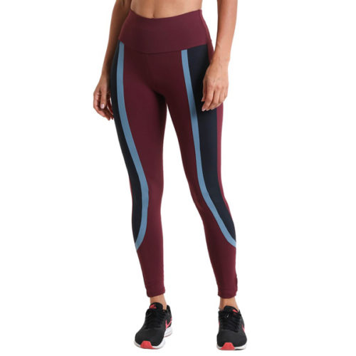 Liquido Fashion Harper Lange Supplex Legging Wine sportlegging yogalegging