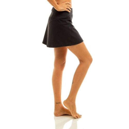 Liquido Fashion Alana Eco Skort Black