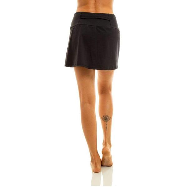 Liquido Fashion Alana Eco Skort Black