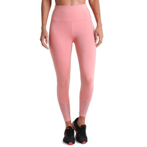 Liquido Fashion Supplex Legging Wild Lace Pink sportlegging yogalegging