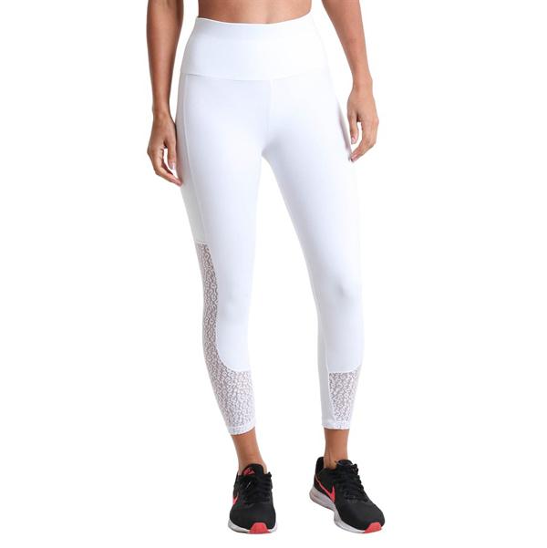 Liquido Fashion Supplex Legging Wild Lace White sportlegging yogalegging