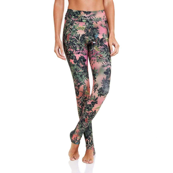 Liquido Benelux Extra Lang Eco Legging Magic Forest yogalegging sportlegging